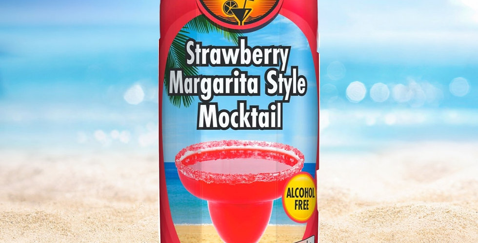 DR011. Strawberry Margarita Mocktail Drink (Non-Alcoholic)