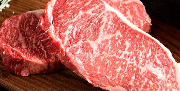 WBE006. Fresh Frozen M6-M7 Wagyu Striploin Steak M6-M7 急凍和牛西冷扒