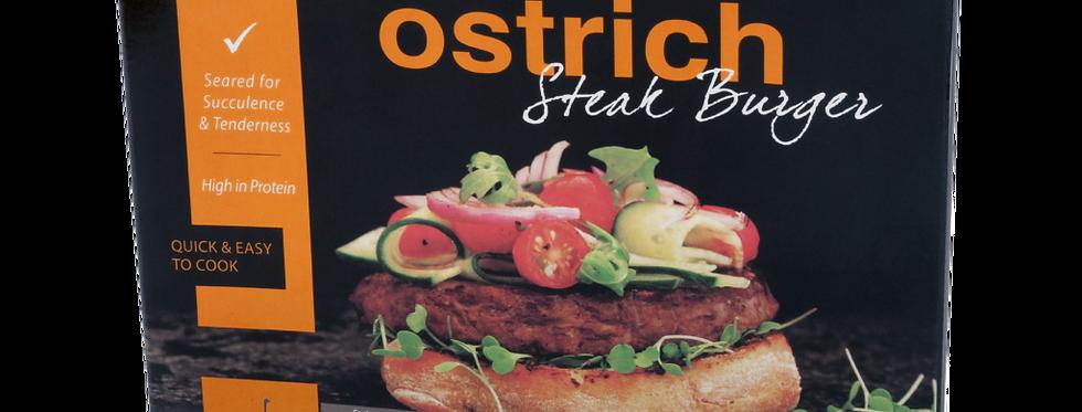 BU004. Ostrich Steak Burger 南非駝鳥肉漢堡 (兩片裝)