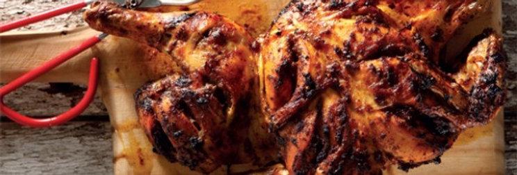 MC012. Marinated 4 Way Chicken (Tandoori) 英國全雞一開四塊(土烤味)-已醃