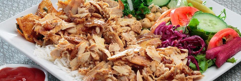 DK002. Chicken Meat Doner Kebab (Cooked) 德國旋轉串燒雞肉