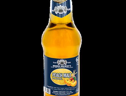 DR003. Peach Flavour Sparkling Malt Drink (Non-Alcoholic) 健康有氣麥汁(桃味)