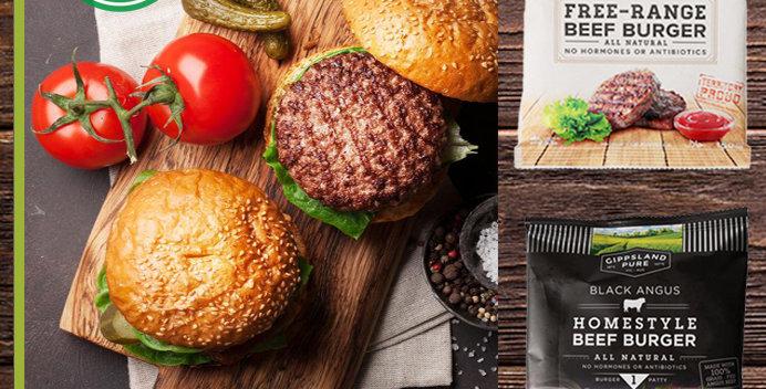 BU008. Bulk Buy (Angus Beef Burger / Organic Beef Burger) (安格斯牛漢堡 + 有機純天然牛漢堡)