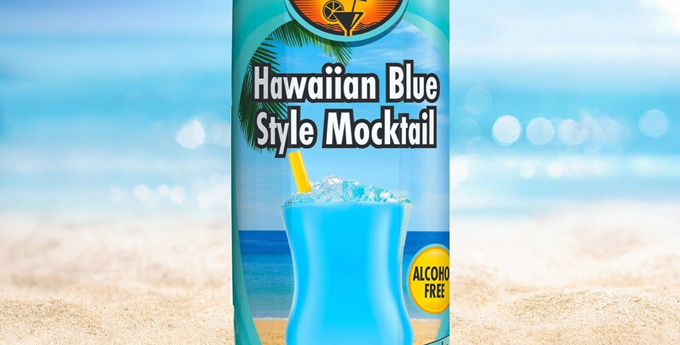 DR008. Hawaiin Blue Mocktail Drink (Non-Alcoholic)