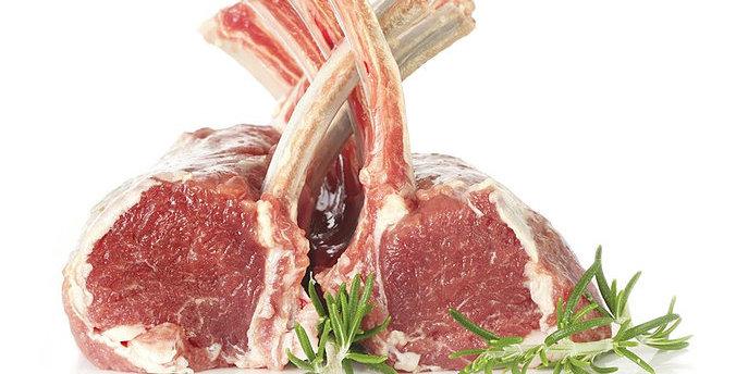 LA005. Silver Fern Farms Fresh Frozen Prime Lamb Rack 紐西蘭急凍優質法式羊架, 一包一排, 約8支骨