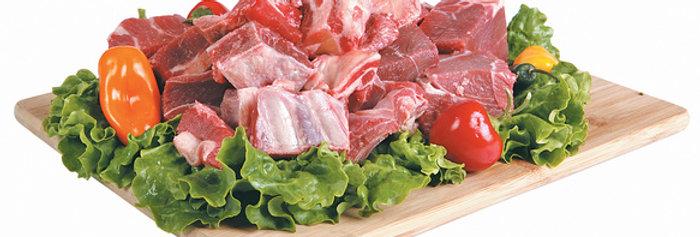 GO003F. Fresh Chilled Goat Meat with Bone 南非新鮮有骨山羊肉