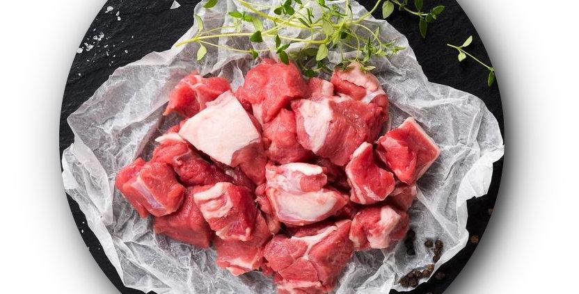 BE007. Fresh Frozen Beef Back Ribs (Cubes) 美國冰鮮牛仔骨