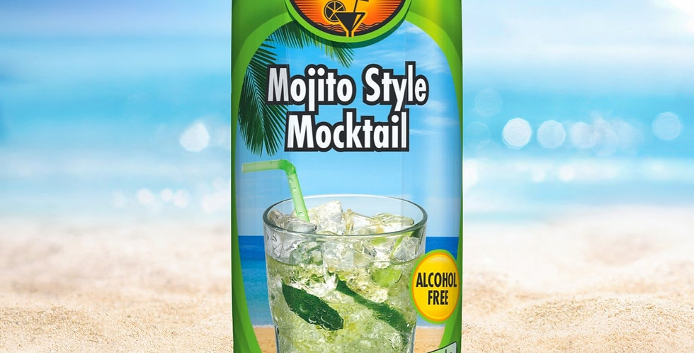 DR009. Mojito Style Mocktail Drink (Non-Alcoholic)