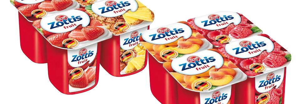 DA010. Zottis Fruit Yoghurt 4 x 115g