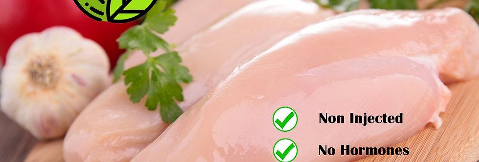 CH001. Fresh Frozen Chicken Breast (Non GMO / Non Injected) 泰國去皮去骨急凍雞胸(無打針無荷爾蒙)
