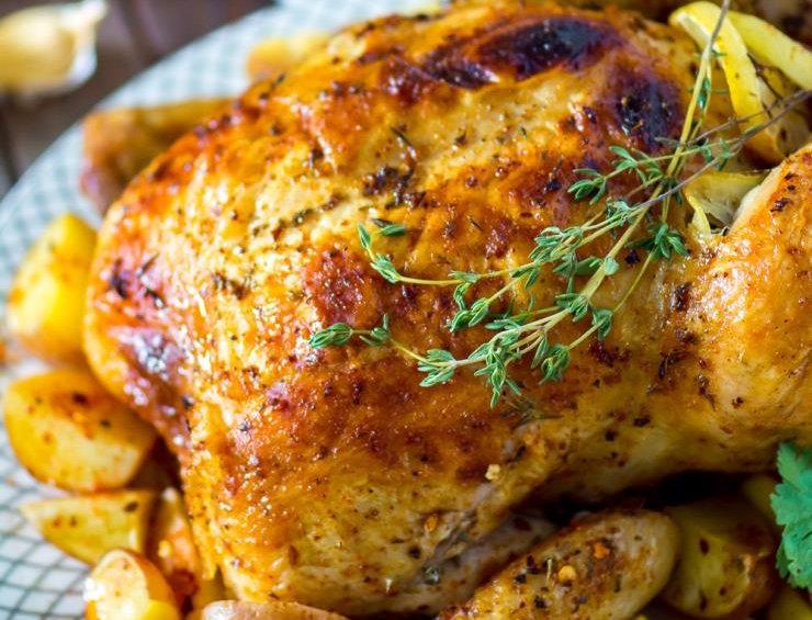 MC009. Marinated 4 Way Chicken (Mediterranean) 英國全雞一開四塊(地中海味)- 已醃