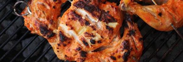 MC011. Marinated 4 Way Chicken (Tikka) 英國全雞一開四塊(燒烤味)-已醃
