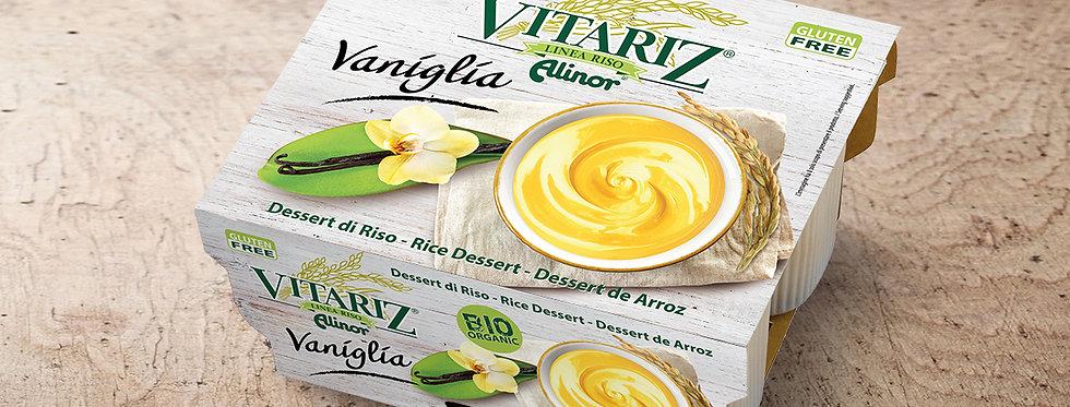 DSS002. Vitariz Organic Rice Dessert Vanilla Flavour