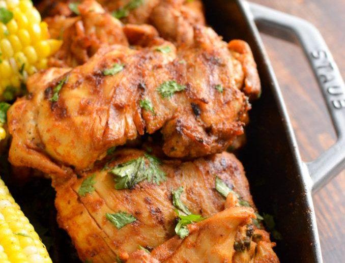 MC006. Marinated Chicken Leg (Peri Peri Flavour) 英國去皮去骨雞上髀(酸辣味)- 已醃