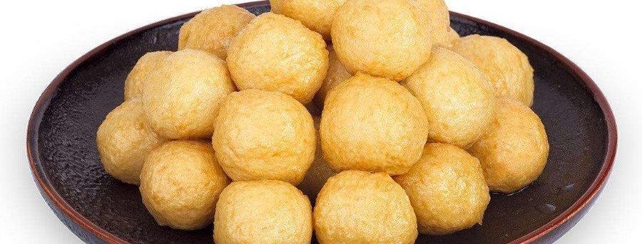 FS013. Large Fried Fish Balls 馬來西亞炸魚蛋(大)