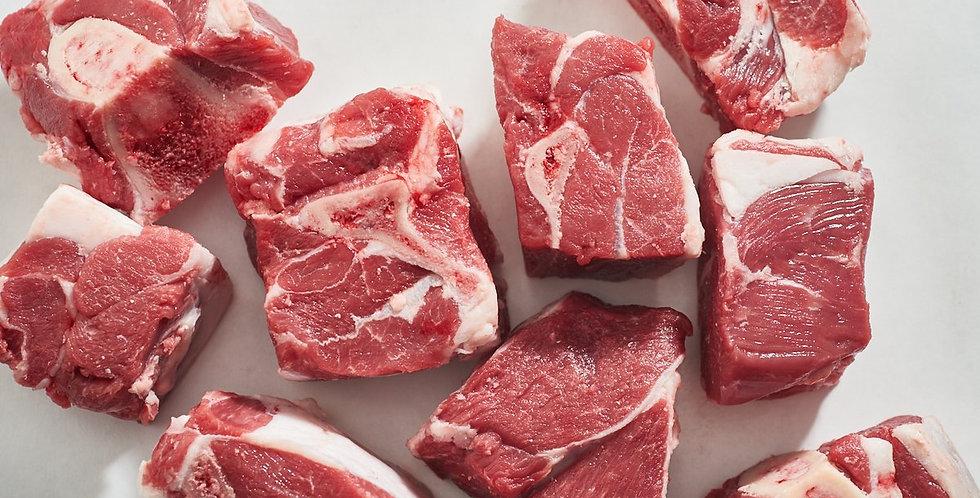 LA002. Frozen Lamb Cubes Bone-in 澳洲急凍有骨羊肉丁