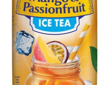 DR016. Mango & Passionfruit Ice Tea Drink