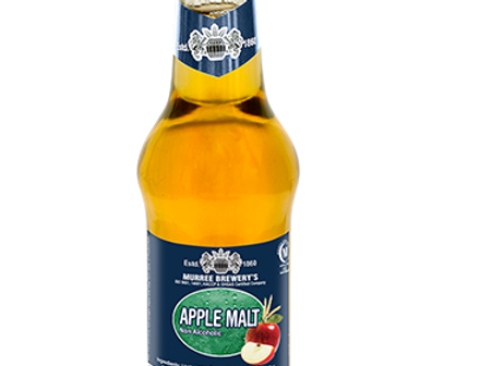 DR005. Apple Flavour Sparkling Malt Drink (Non-Alcoholic) 健康有氣麥汁(苹果味)