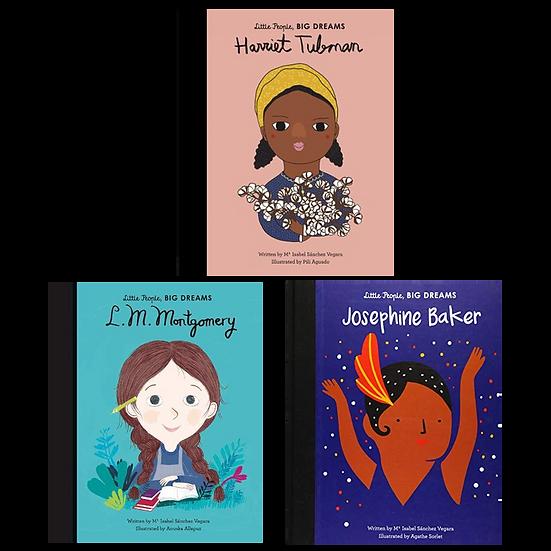 Little People, Big Dreams: Tubman, Baker, Montgomery