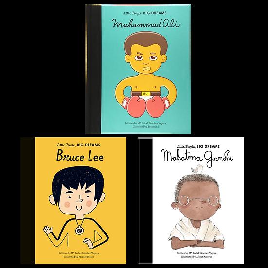 Little People, Big Dreams: Ali, Lee, Gandhi