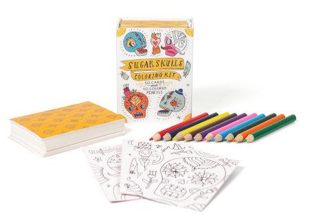 Sugar Skulls Mini Coloring Kit
