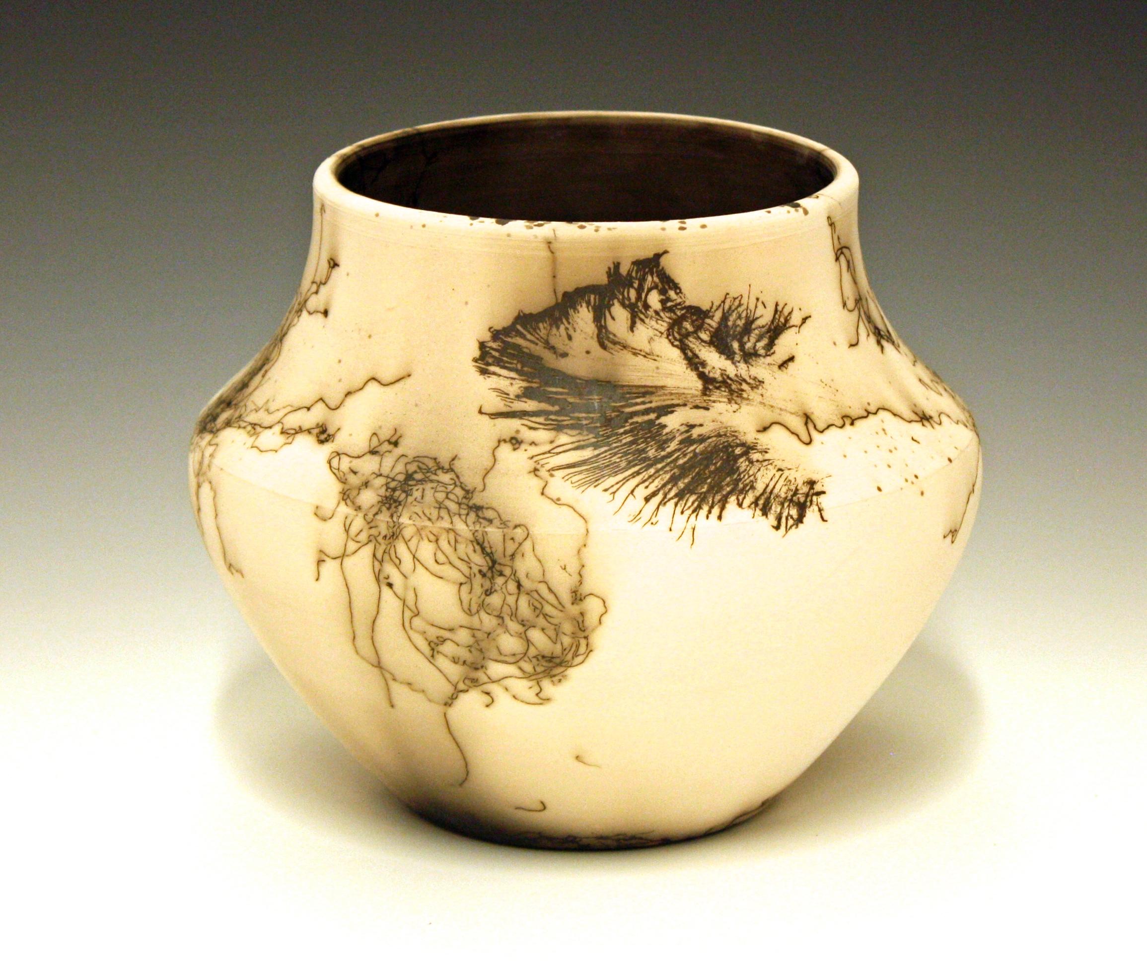 Horsehair Vase