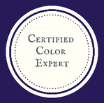 Certified Color Expert badge Patricia Justice Designs