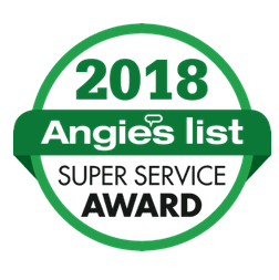Angie's List super service award 2018 Patricia Justice Designs