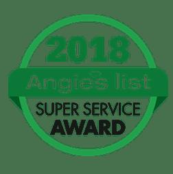 Angie's List super service award 2018 Patricia Justice Designs