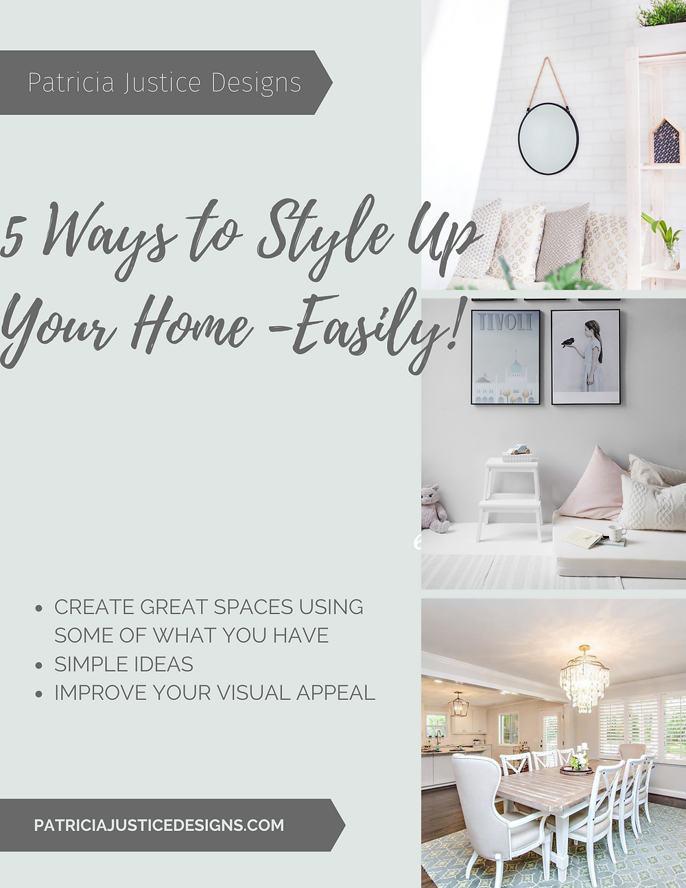 Free ebook, 5 Ways to Style Up Your Home - Easily