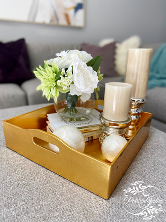 Room Refresh living room serving tray