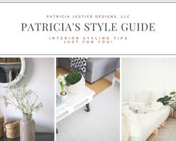 Patricia Justice Designs' style guide