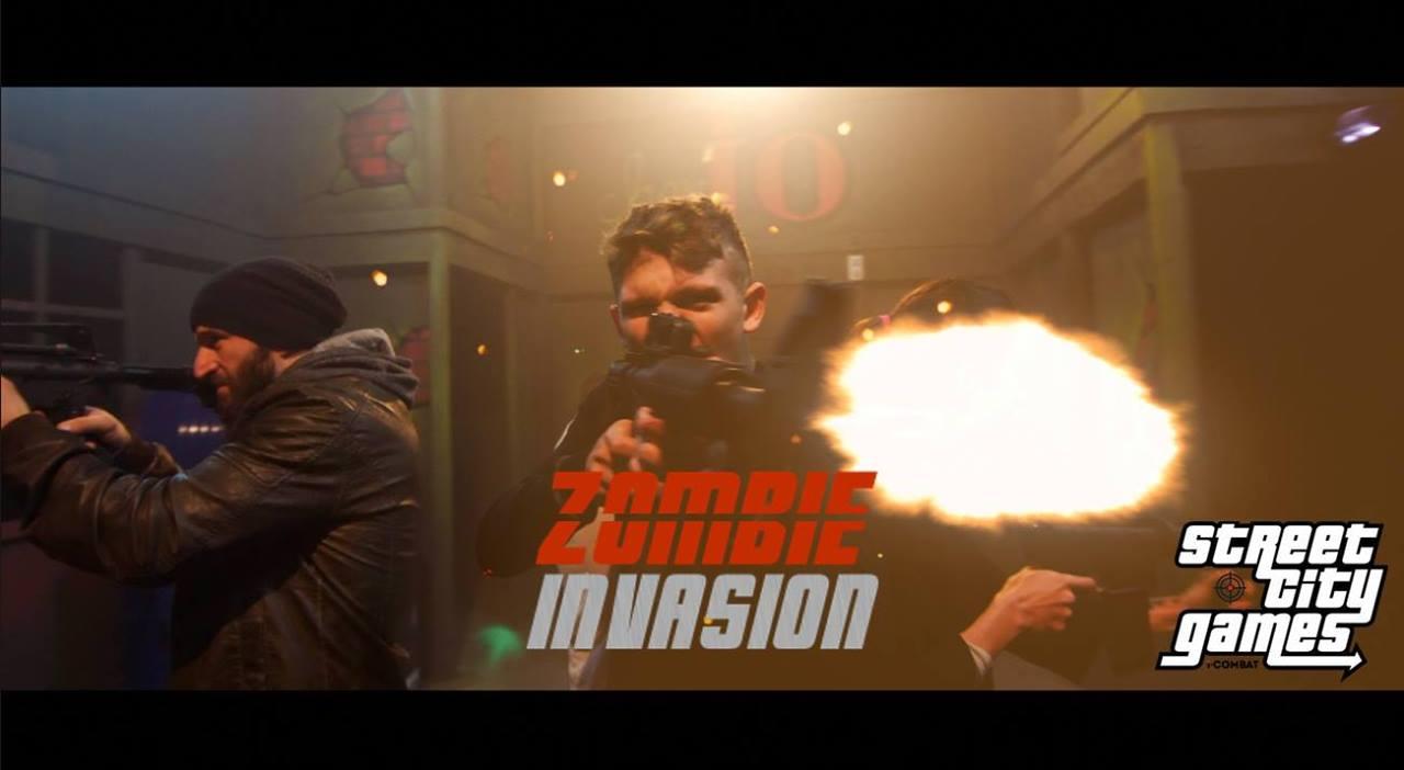 Street City Games : ZOMBIE INVASION