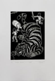 十二生肖-虎