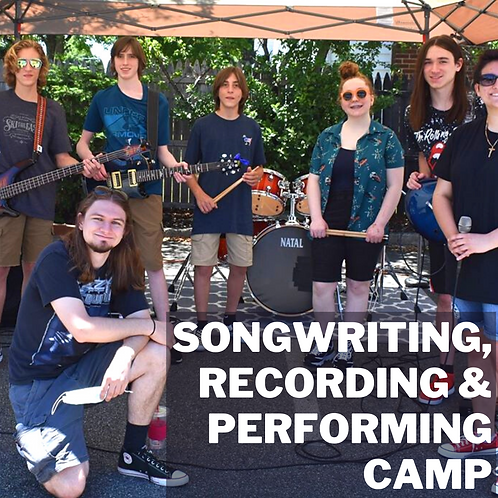 Songwriting, recording & Performing Summer Camp