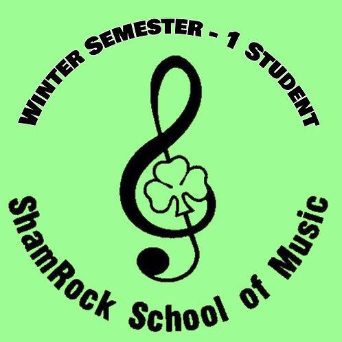 Winter Lessons Full Semester - 1 Student