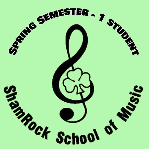 Spring Lessons Full Semester - 1 Student