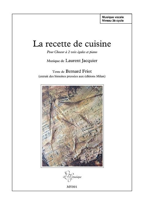 La recette de cuisine