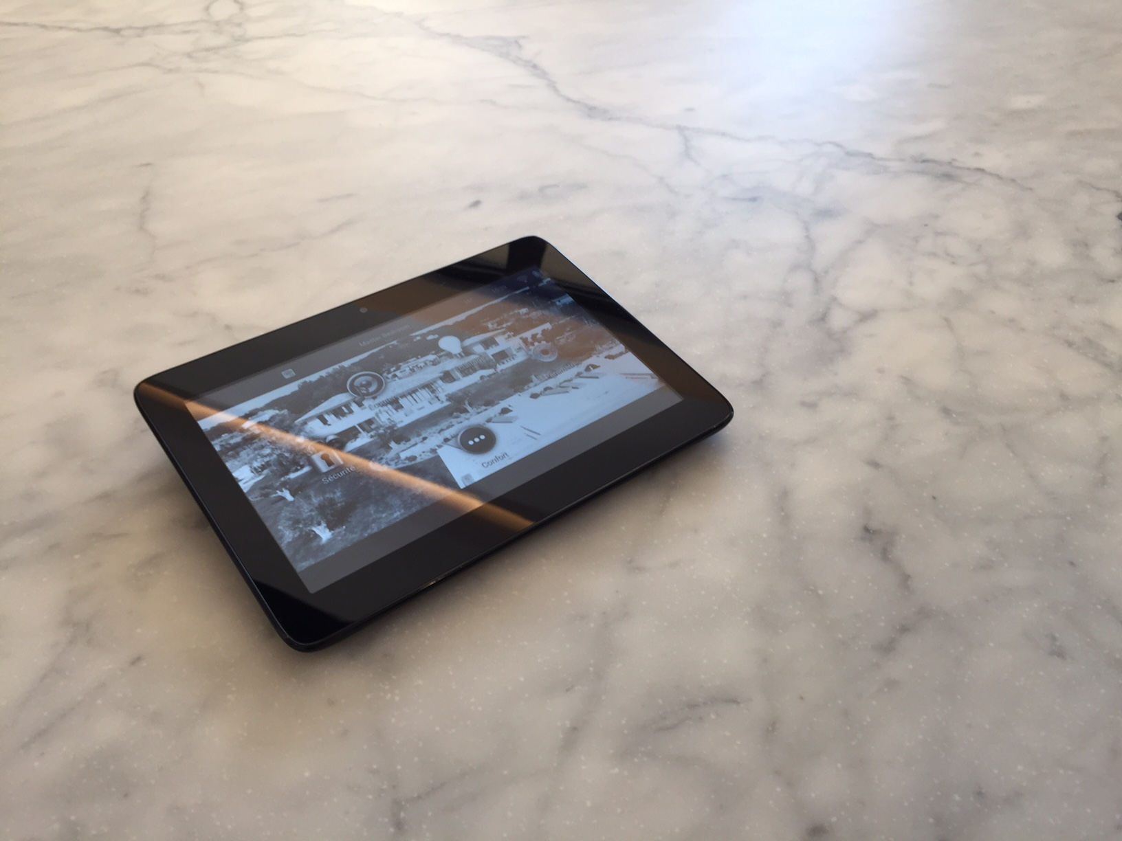 Control4 portable Touch screen