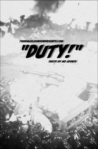 "Ed Johnson Presents: NERD! Verse Comics: ""DUTY!"" Issue 1"