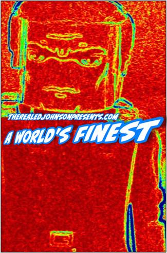"Ed Johnson Presents NERD! Verse Comics ""A World's Finest"" Issue 1"