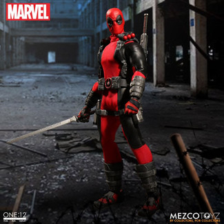 The One:12 Collective Exclusive Deadpool With Headpool Accessory