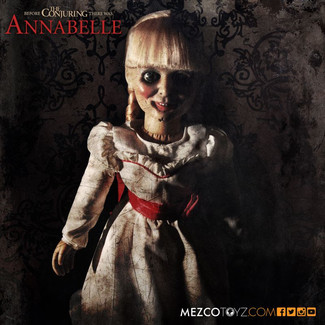 Annabelle: Creation Invades Ripley's Believe It Or Not! Times Square Odditorium with Mezco Toyz