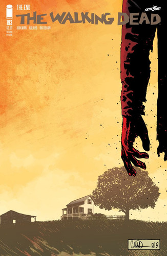 TODAY'S SHOCKINGTHE WALKING DEAD #193 ISSUE IMMEDIATELY RUSHED BACK TO PRINT