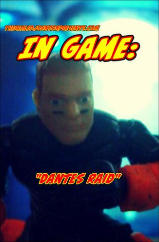 "Ed Johnson Presents NERD! Verse Comics: ""In Game - DANTE'S RAID"" Issue 1"