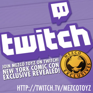 Mezco Toyz: Join Us Live Today at 8:00PM EST on Twitch!