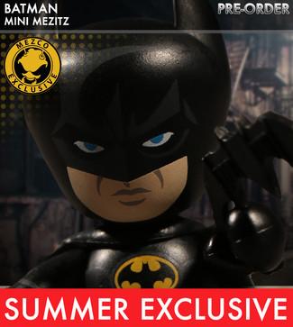 Mezco Reveals Mez-Itz 1989 Batman Summer Exclusive