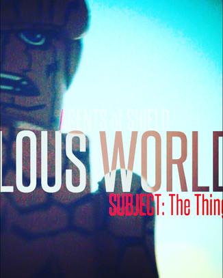 "Ed Johnson Presents: NERD! Verse Comics: ""MARVELOUS WORLD - FOUNDATION"" Issue 3"
