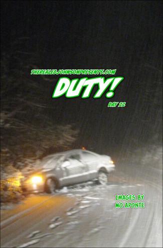 "Ed Johnson Presents: NERD! Verse Comics: ""DUTY!"" Issue 3"