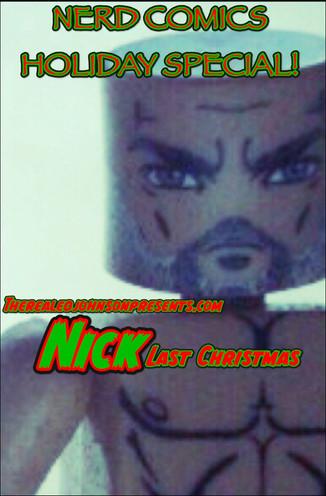 "Ed Johnson Presents: NERD! Verse Comics: ""NICK! Last Christmas"" Issue 1"